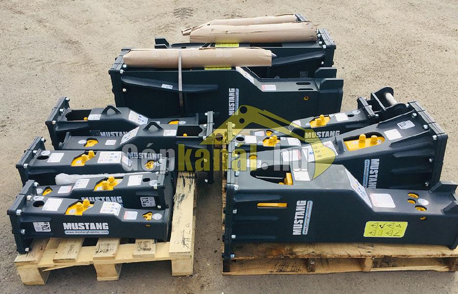 Mustang / Hammer HM70 Hidraulikus bontókalapács Törőfej JCB CAT Kubota